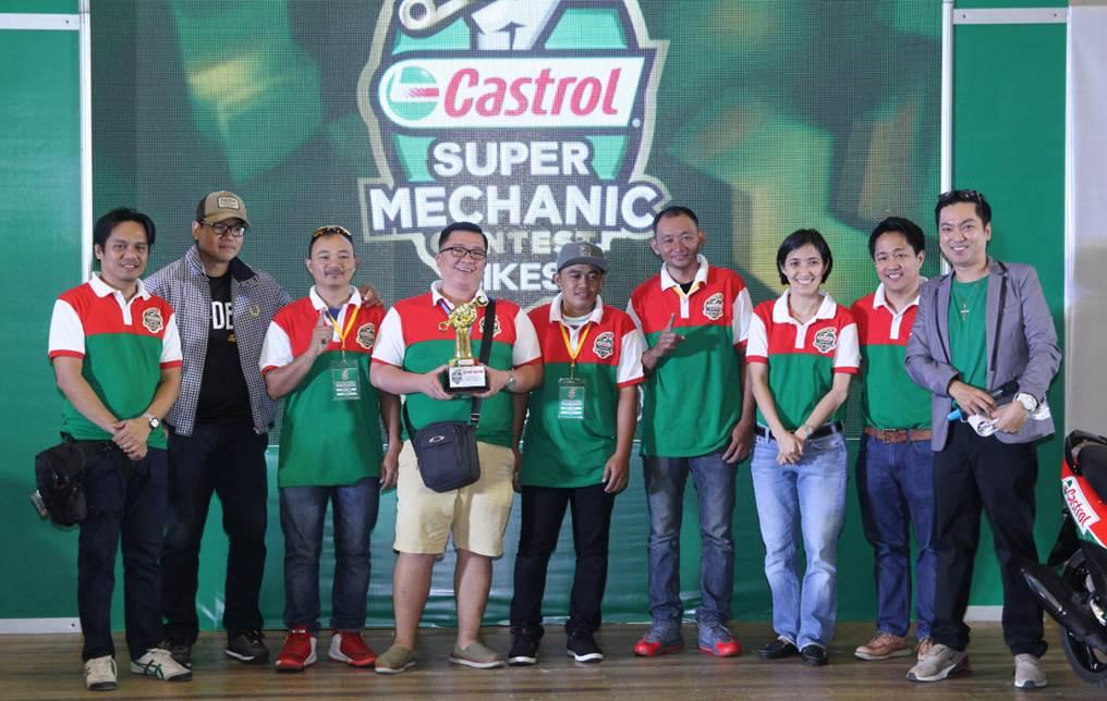 Team Cebu Wins Castrol Partner for Life 2018 Super Mechanics Contest