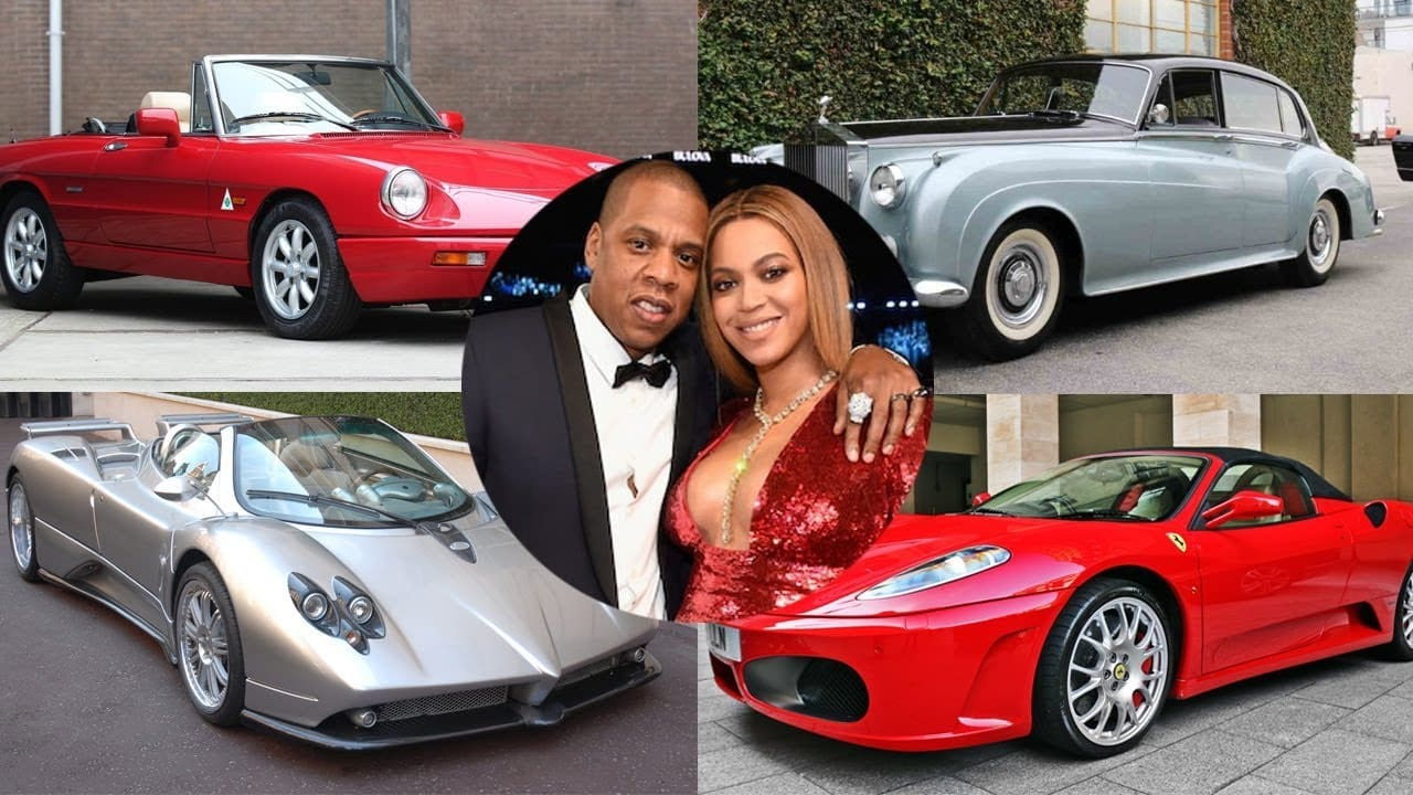 Top Cars in Beyonce's and Jay-Z's Vehicle Collection