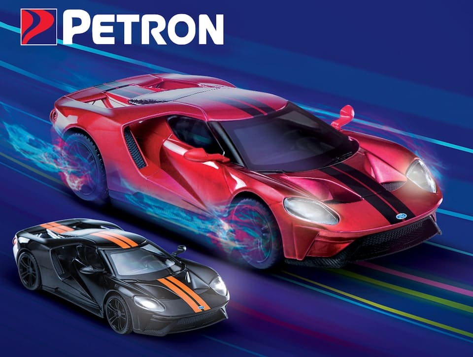 Petron Presents New Ford Gt Collectibles