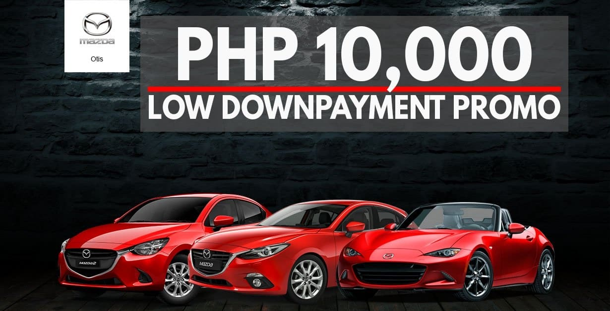 Own a Mazda2 for Just PhP10,000!