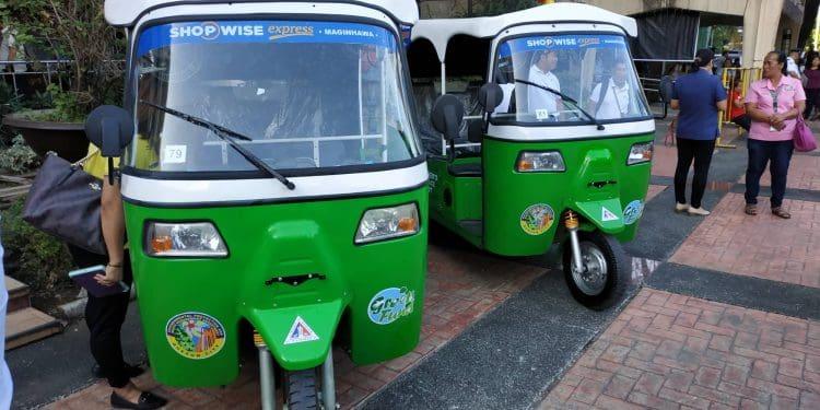 Quezon City E-Tricycles
