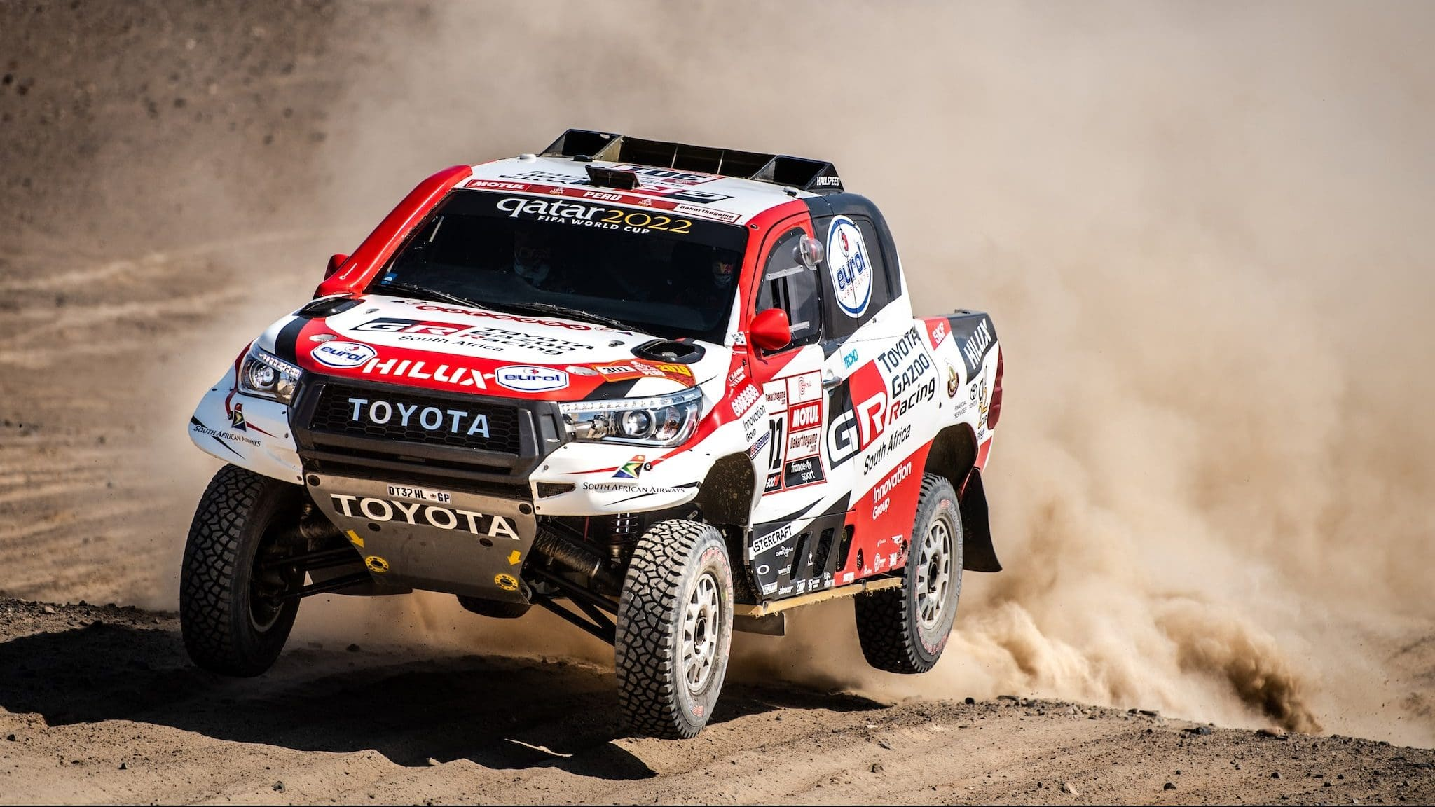 Toyota Tops 2019 Dakar Rally; Takes Cars & Truck Categories, Tops Production Division