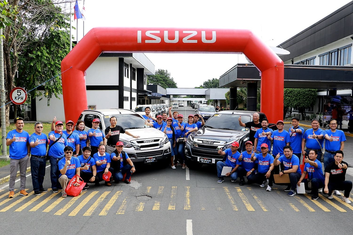 2018 Isuzu RZ4E Bluepower Fuel Eco Challenge Yields 6 Winners
