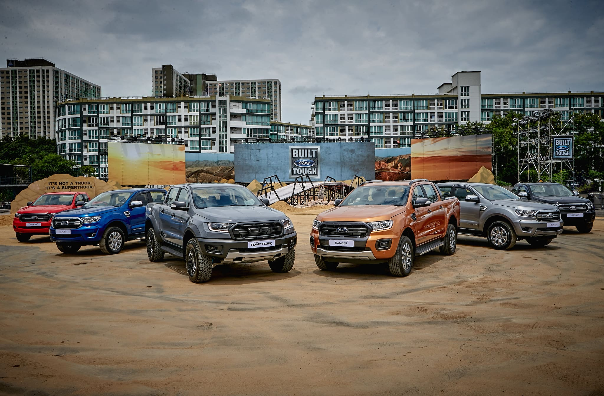 Ford Ranger Delivers Record Asia Pacific Sales in 2018 for 10th Consecutive Year