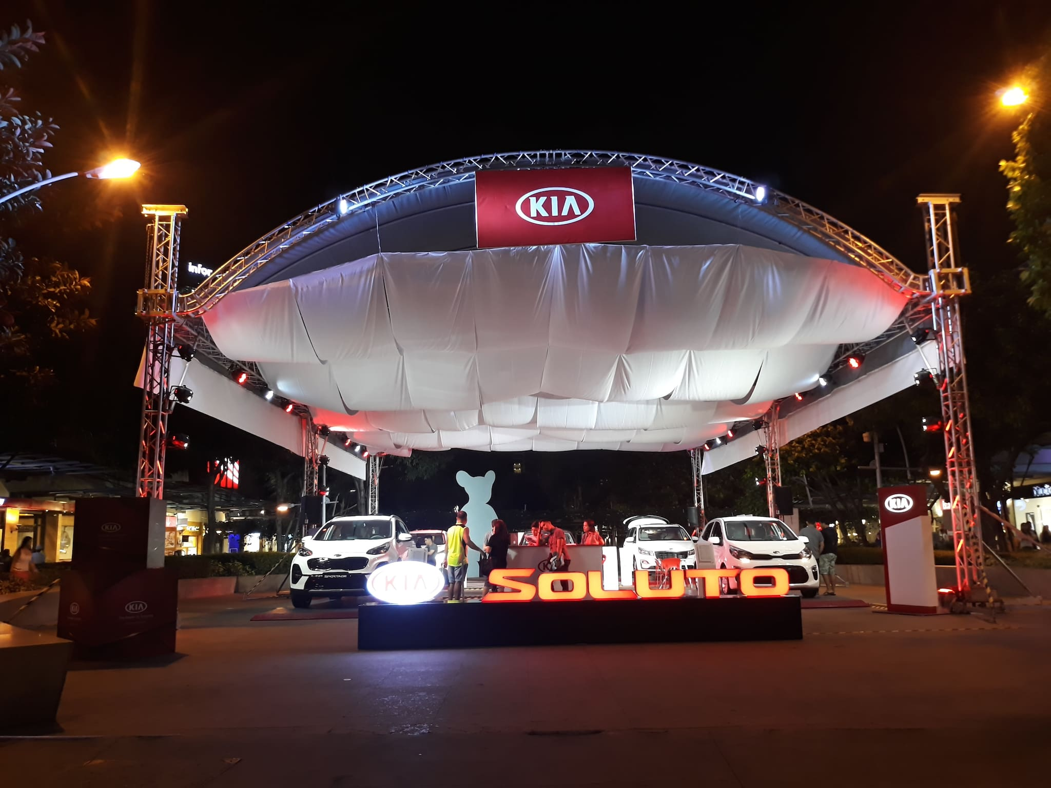 PHOTOS: The Kia Soluto, Other Kia Vehicles at Kia PH's Bonifacio High Street Display