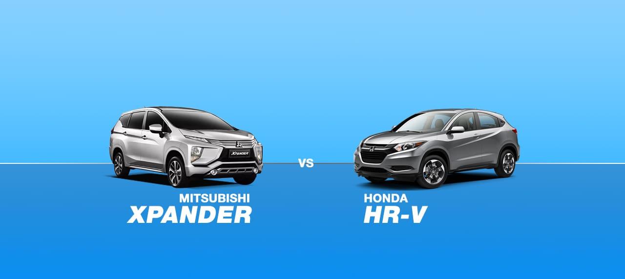 CAR COMPARISON: 2018 Mitubishi Xpander vs 2018 Honda HR-V