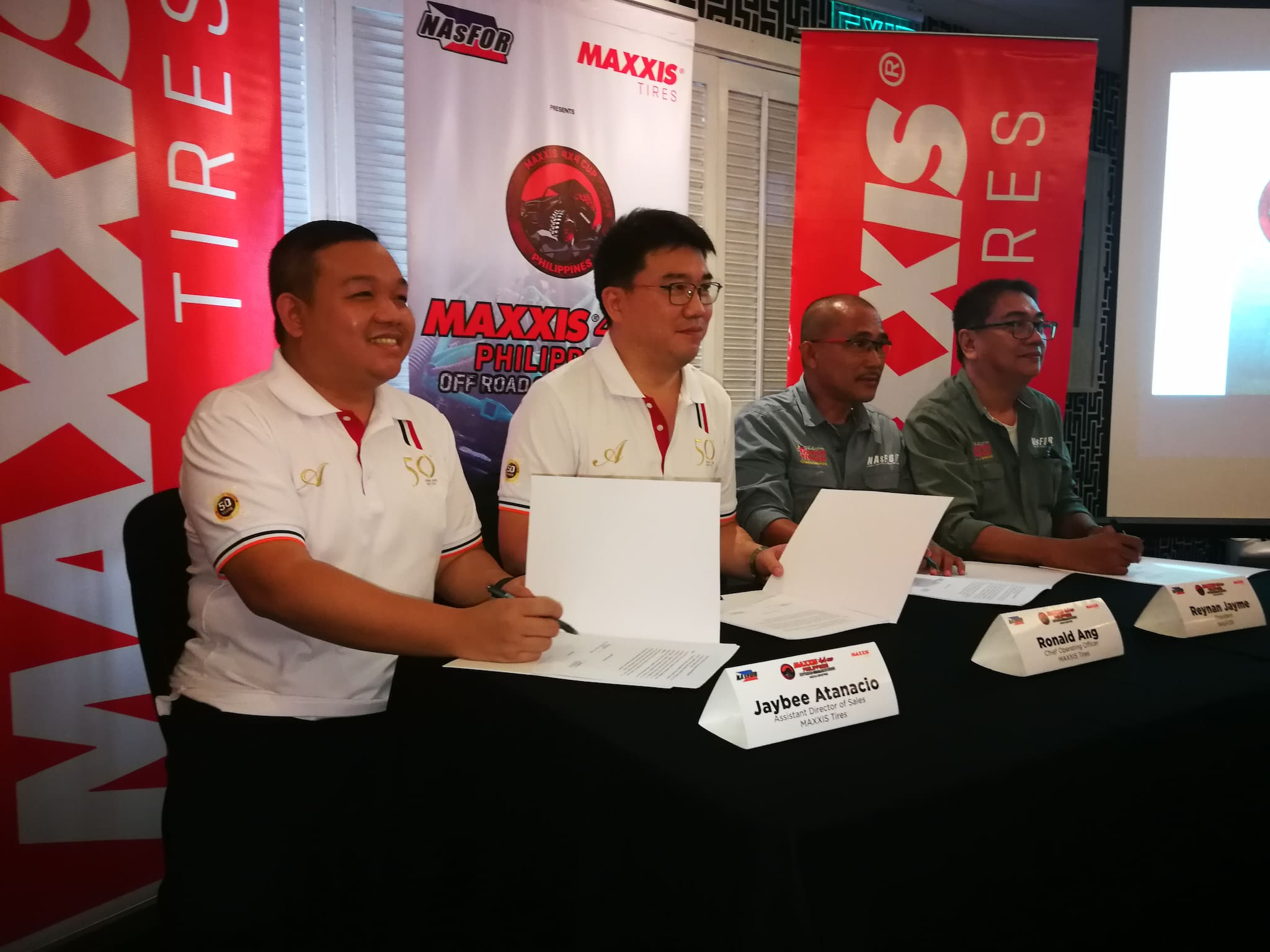 Maxxis, NAsFOR Reforge Partnership for 4x4 Cup