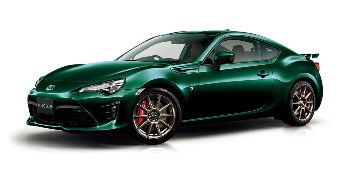 Green is 'IN' for Special Edition Toyota 86