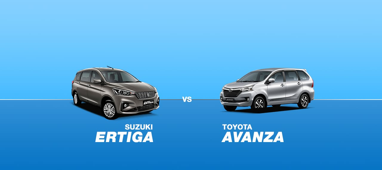 CAR COMPARISON: Suzuki Ertiga GLX 1.5 AT vs. Toyota Avanza 1.5 G A/T