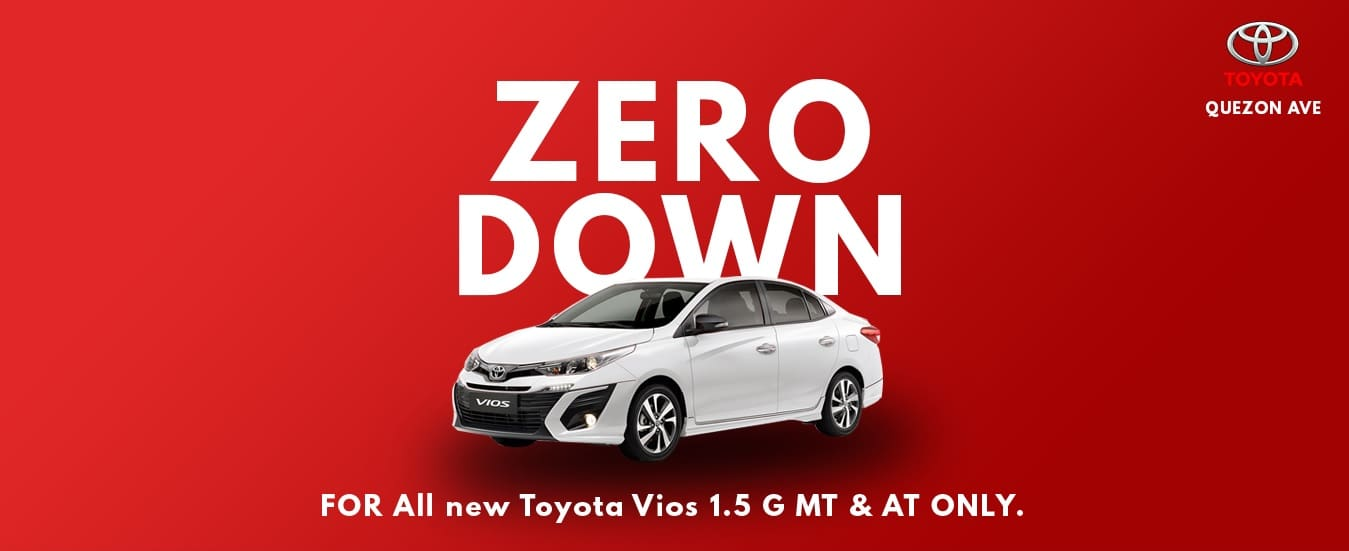 The Deal to Beat! Enjoy Zero Down Payment On Your Next Toyota Car!