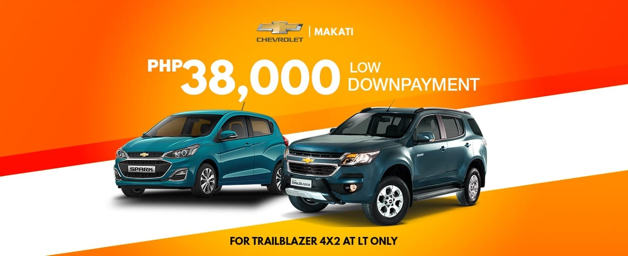 Own a Chevrolet Trailblazer for Just PHP38,000!