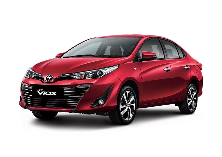 Toyota Vios Maintains Position as Philippines' Best-Selling Vehicle