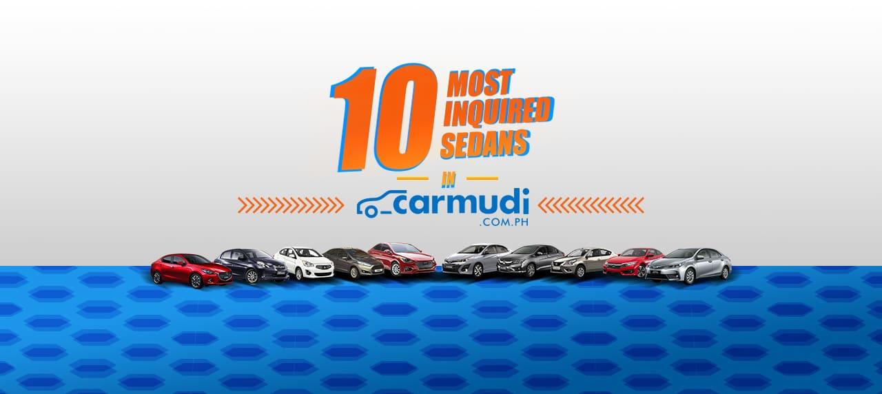 10 Most Inquired Sedans in Carmudi Philippines in 2018