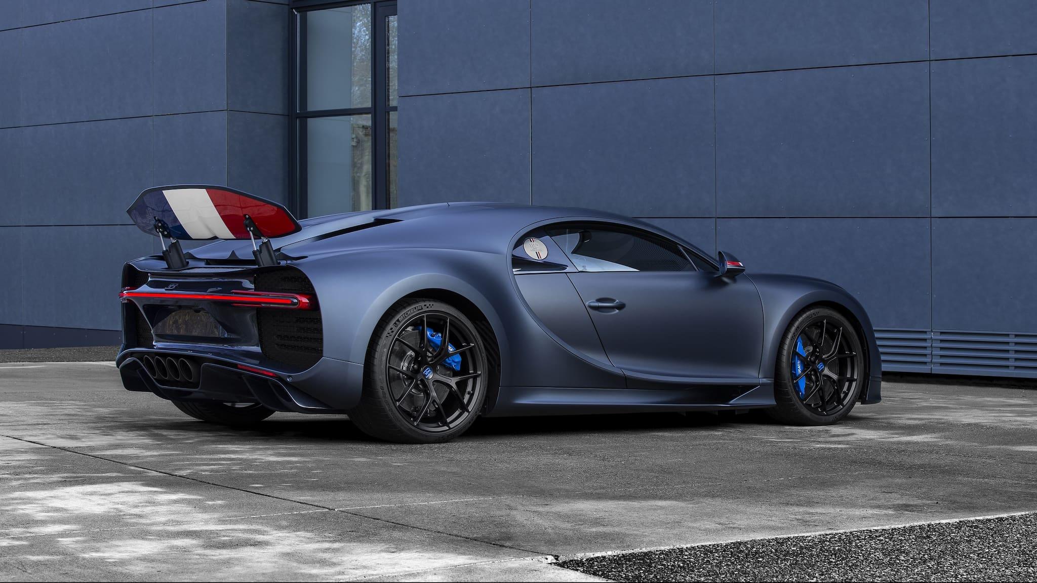Besides La Voiture Noire, Bugatti Also Premieres Chiron Sport '110 ans Bugatti' in Geneva