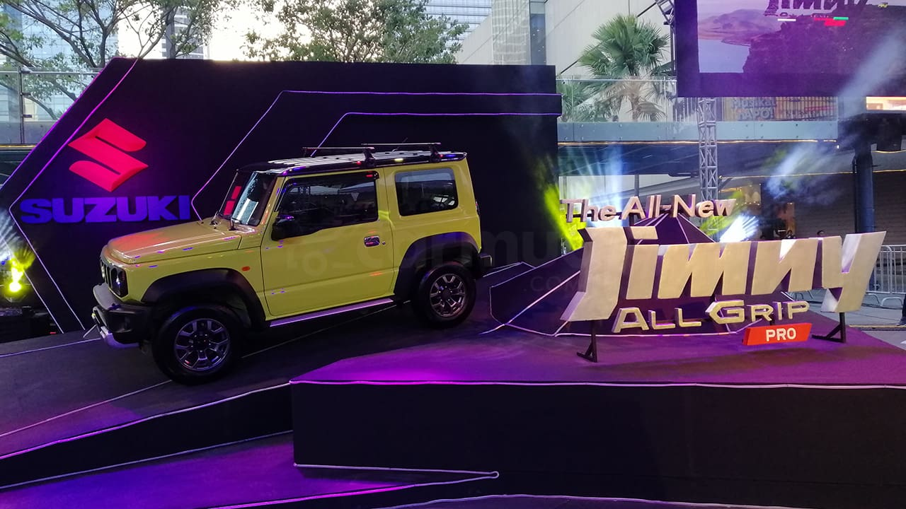 While Suzuki PH Has Already Launched the All-New Suzuki Jimny, You'll Still Have to Wait For It...