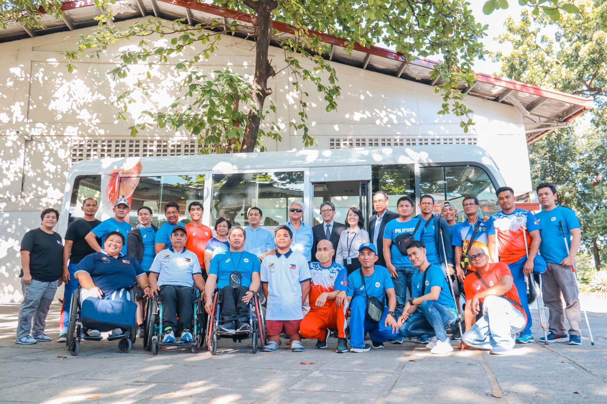 Toyota PH Donates Toyota Coaster to Local Parasport Athletes