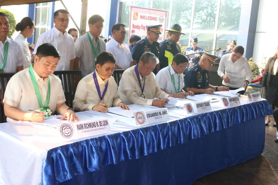 Philippine National Police--Highway Patrol Group is Now Enforcement Arm of DOTr
