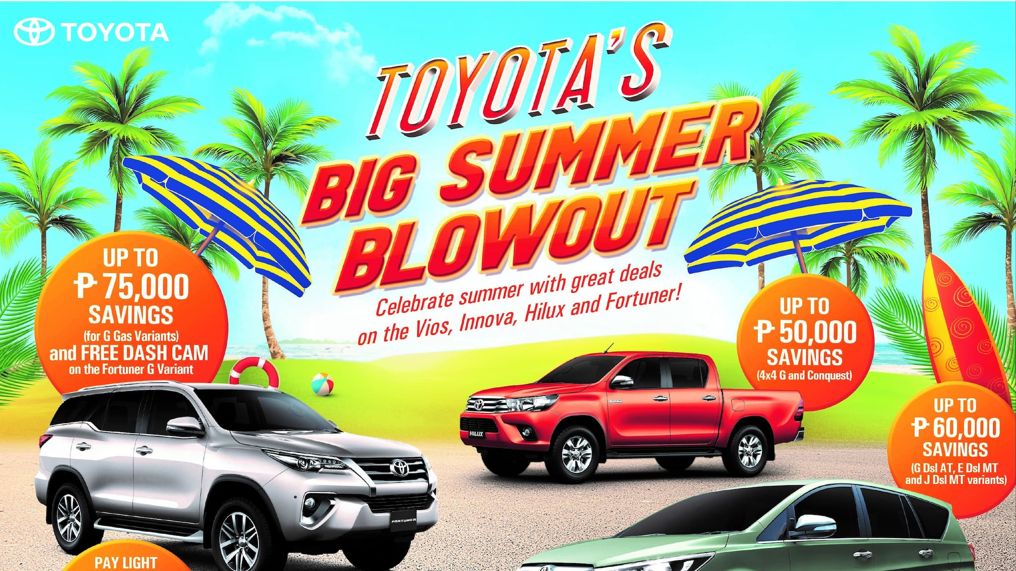 Beat the Blazing Heat with Toyota's Summer Blowout Promo