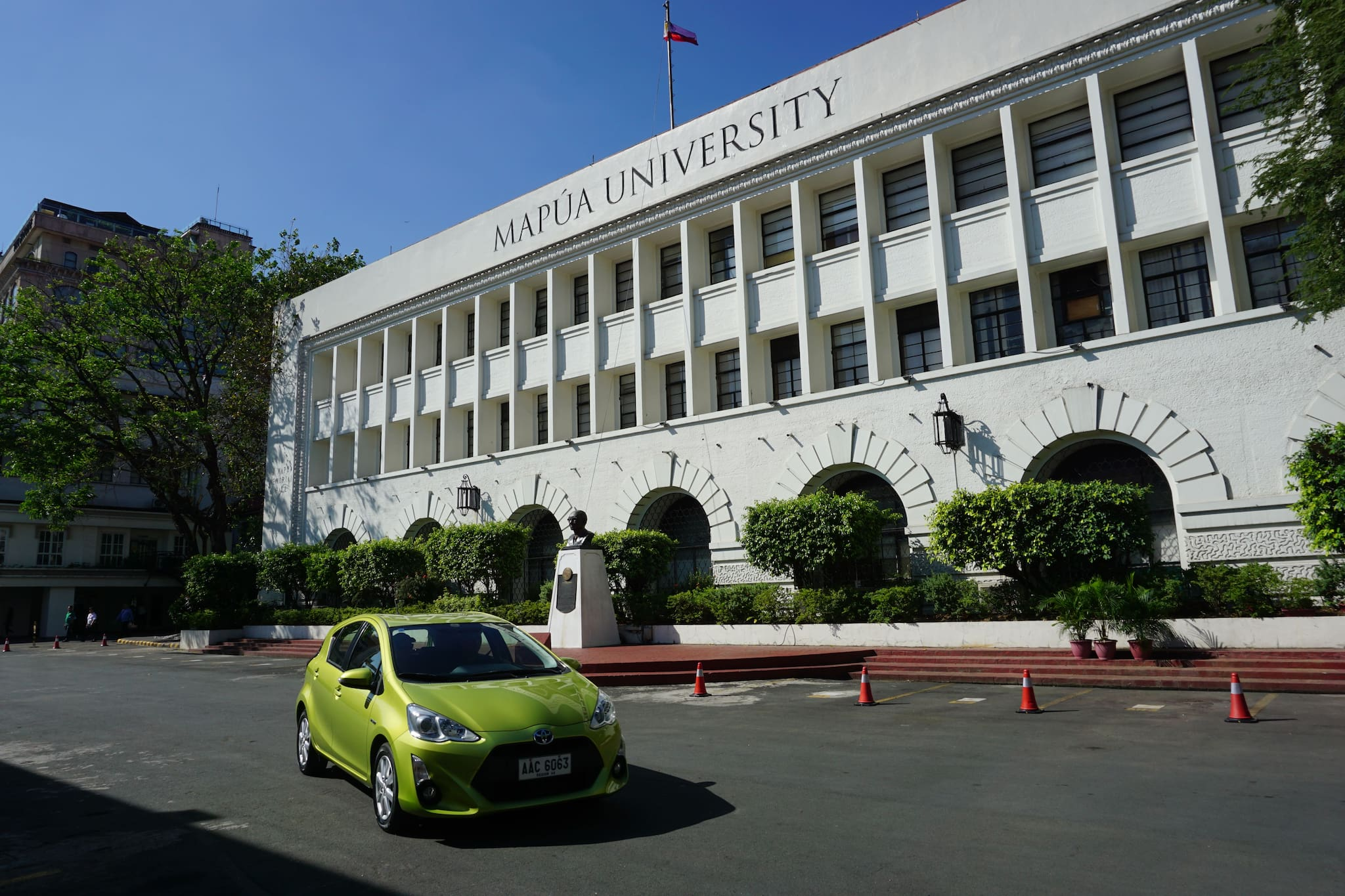 Toyota Partners with MAPUA for First Hybrid Electric Vehicle Campus Tour
