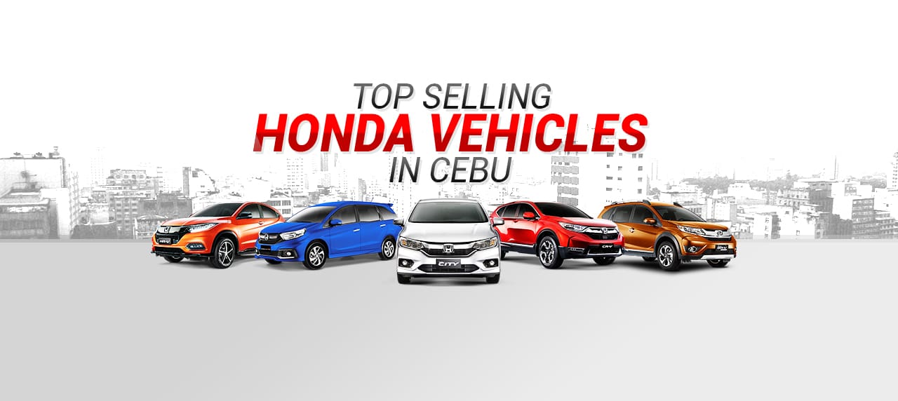 Top-Selling Honda Vehicles in Cebu
