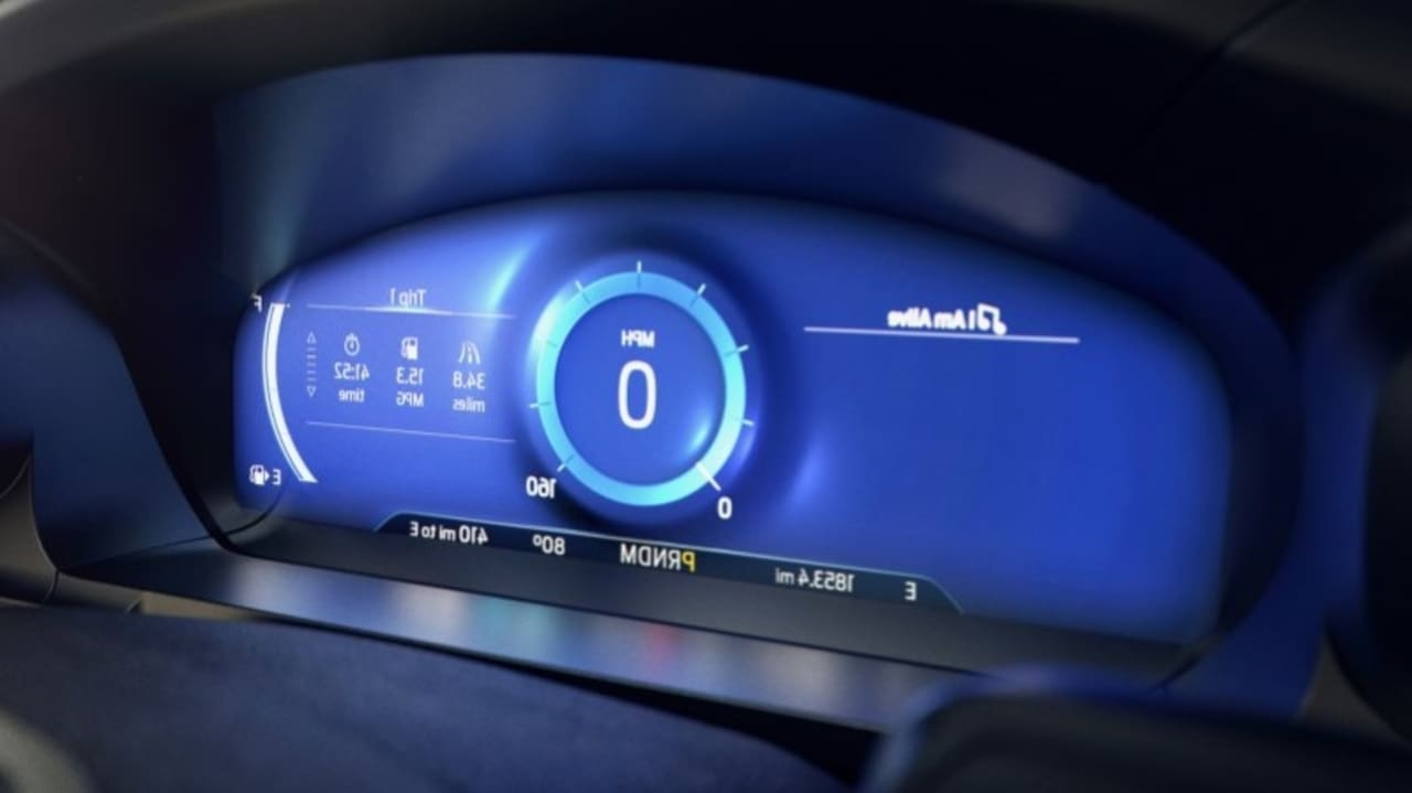 Stressed Out? Let Ford's 'Calm Screen' Relax You on the Road