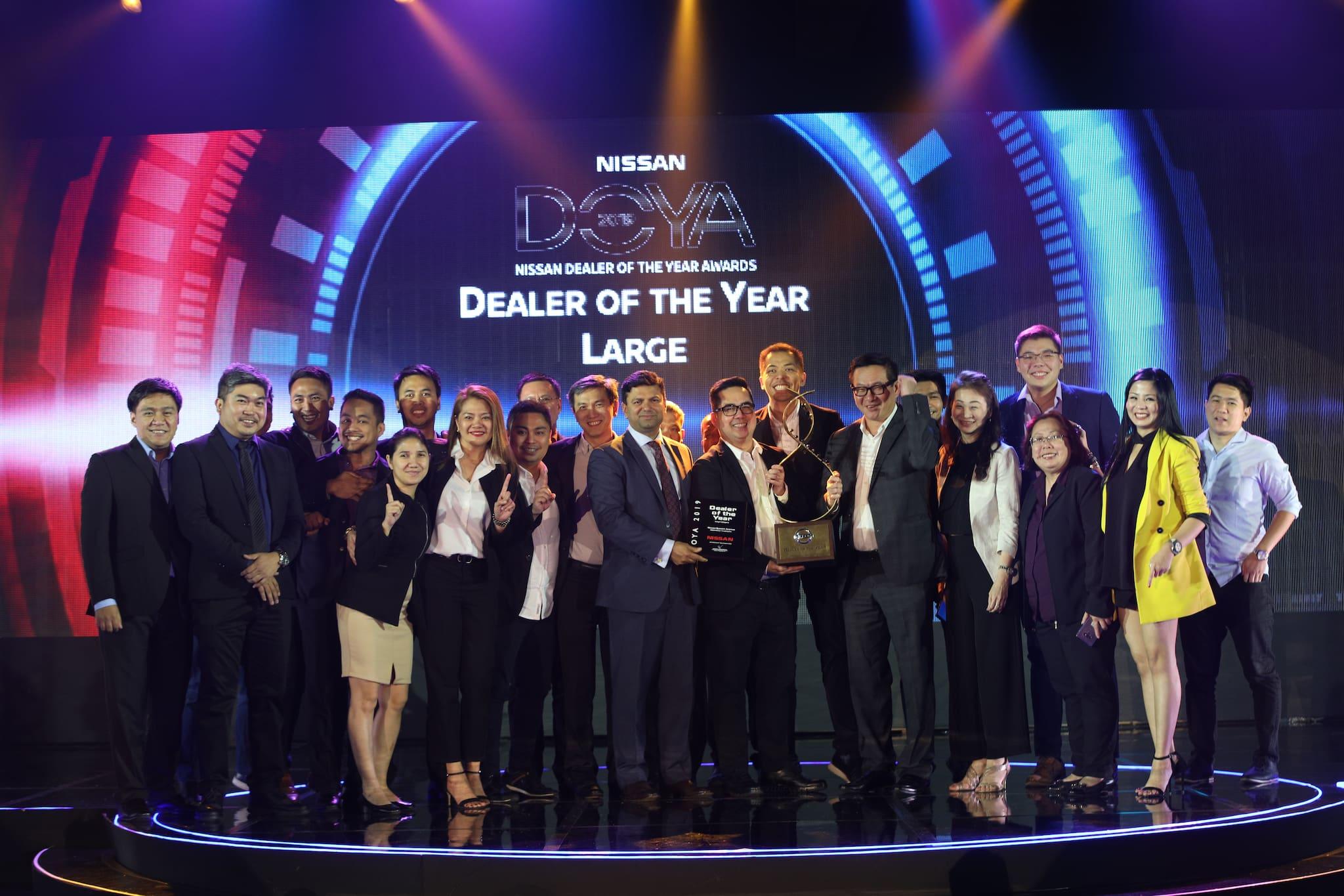 Nissan Quezon Avenue, Santa Rosa, Isabela Bag Nissan Dealer of the Year Awards