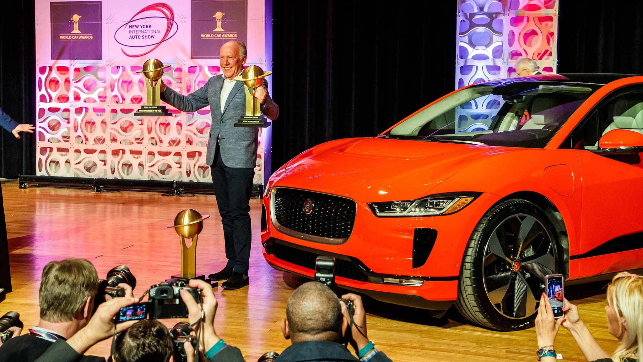 Jauguar I-Pace is 2019 World Car of the Year