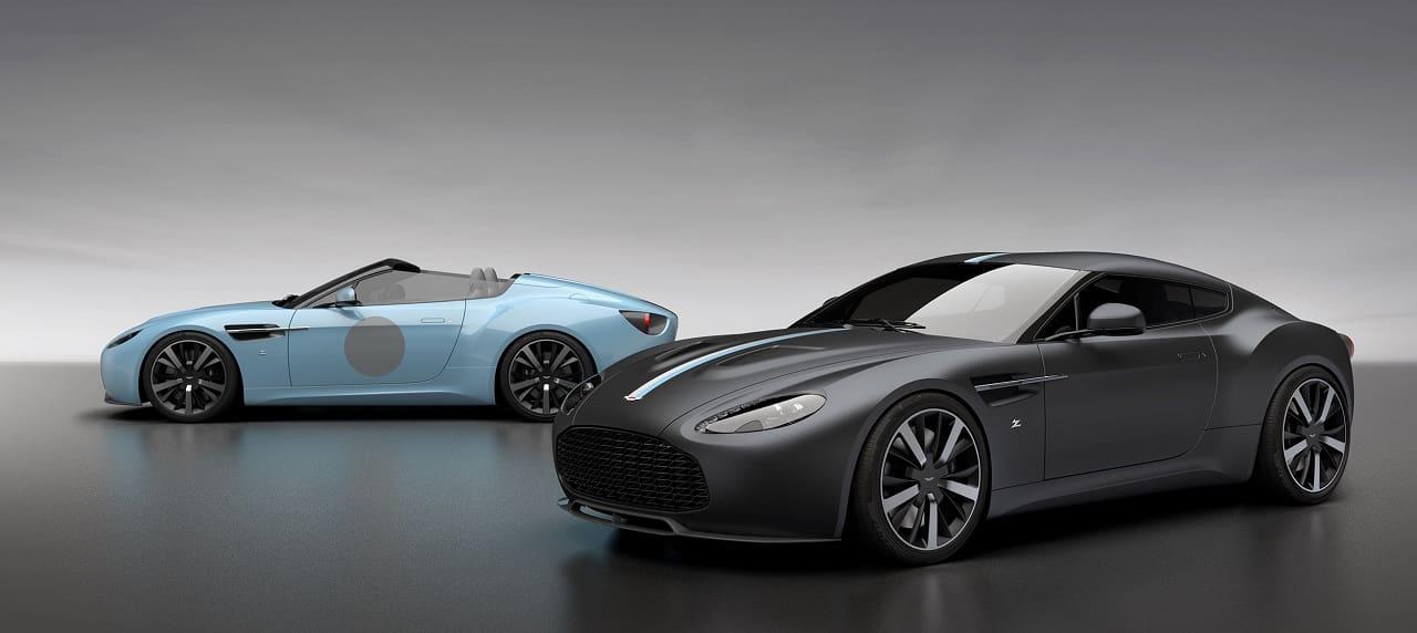 Twin Aston Martin Vantage Special Editions Mark Zagato's 100th Year