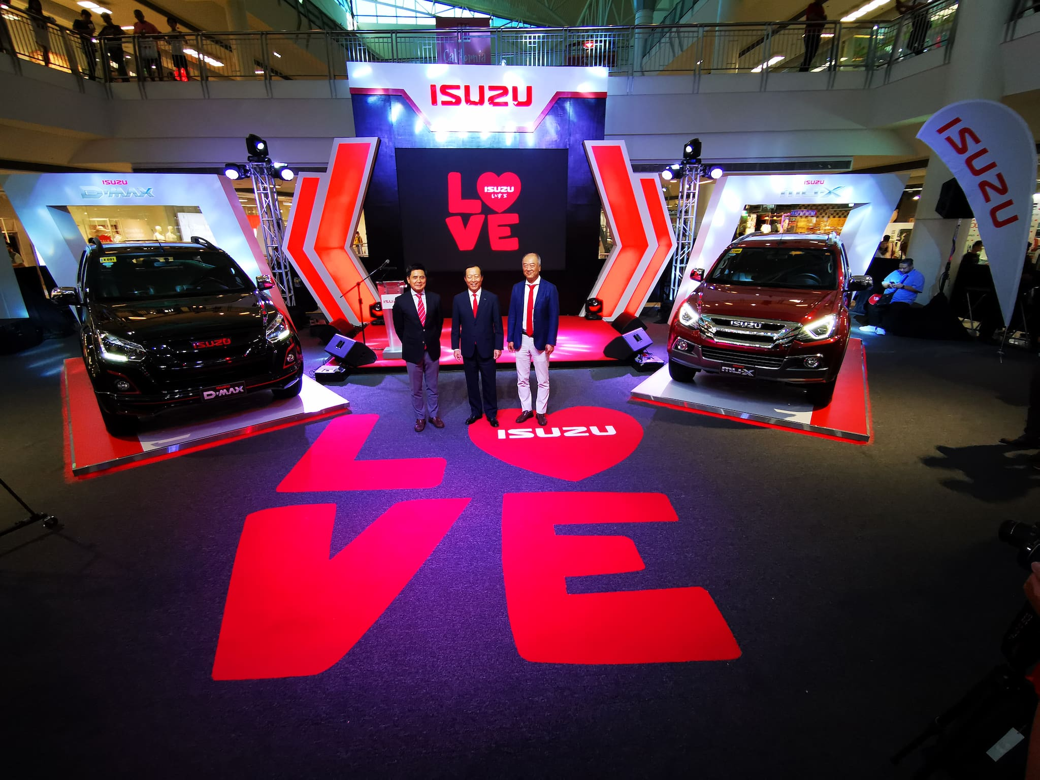 Isuzu PH Launches 'I Love Isuzu' Campaign
