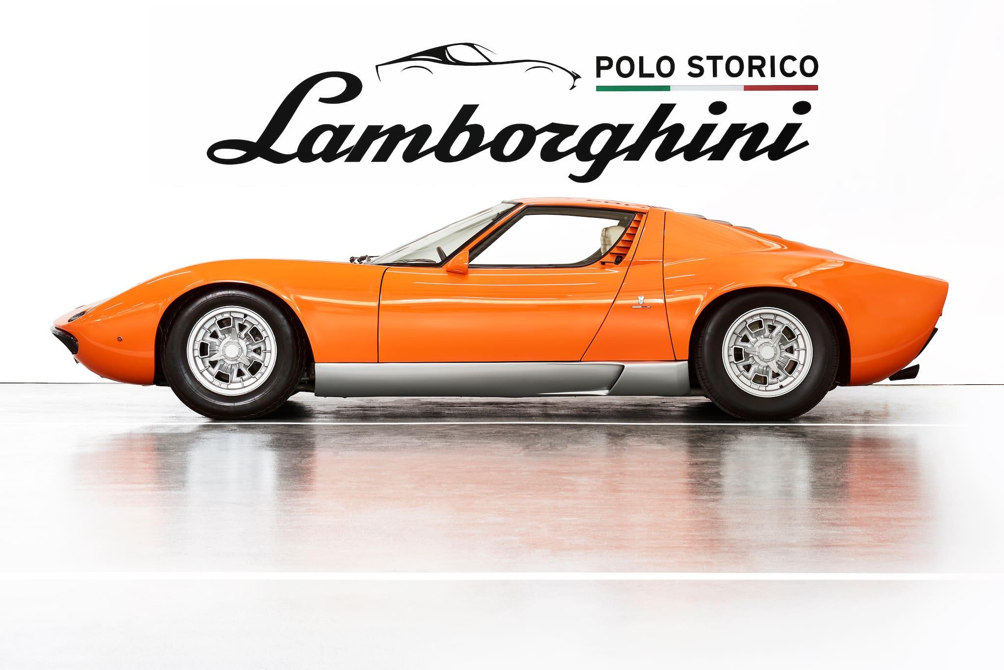 Lamborghini Polo Storico Discovers, Certifies Lamborghini Miura Used in 1969's 'The Italian Job'