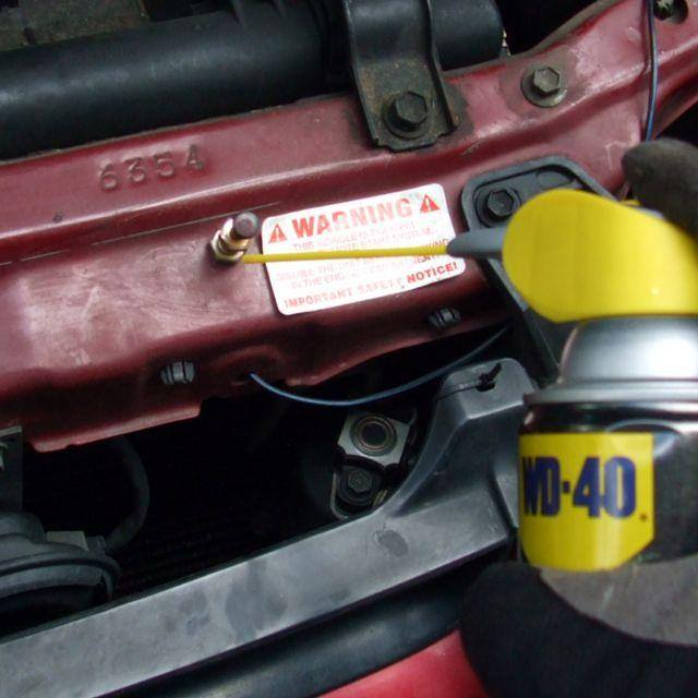 10 Uses for WD-40 on Your Car