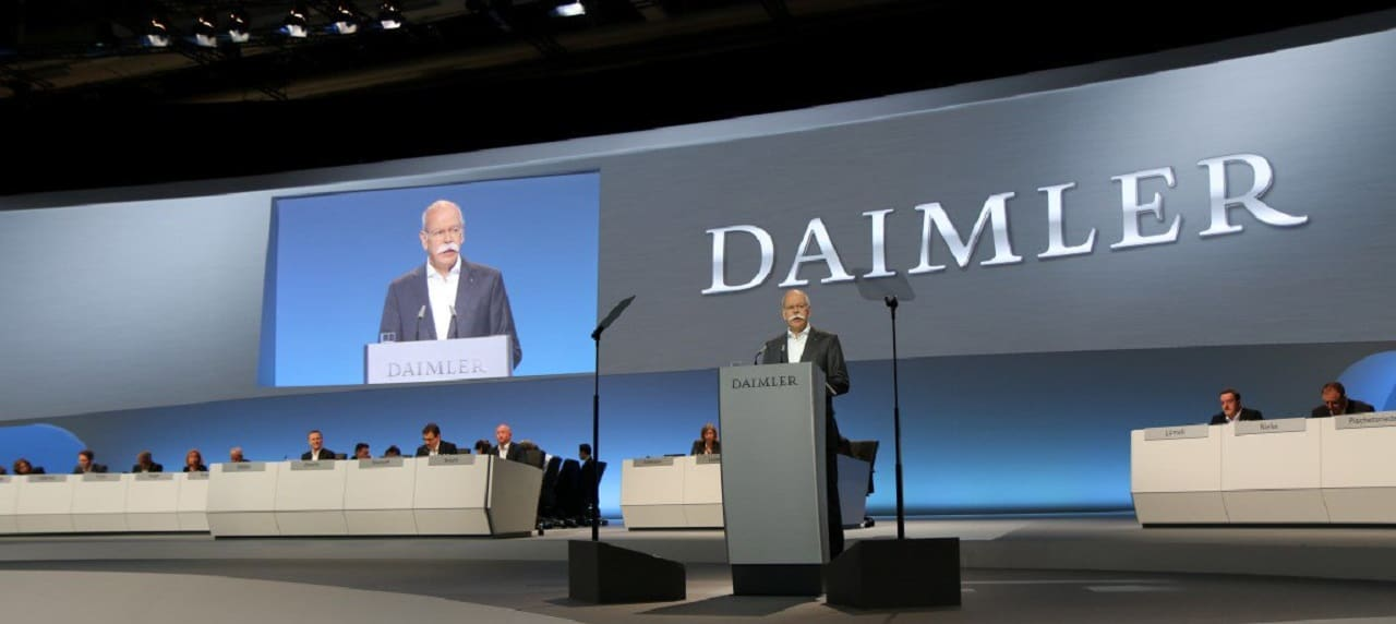 Daimler AG Annual Shareholders Meeting Focuses on Cutting Costs to Boost Profits