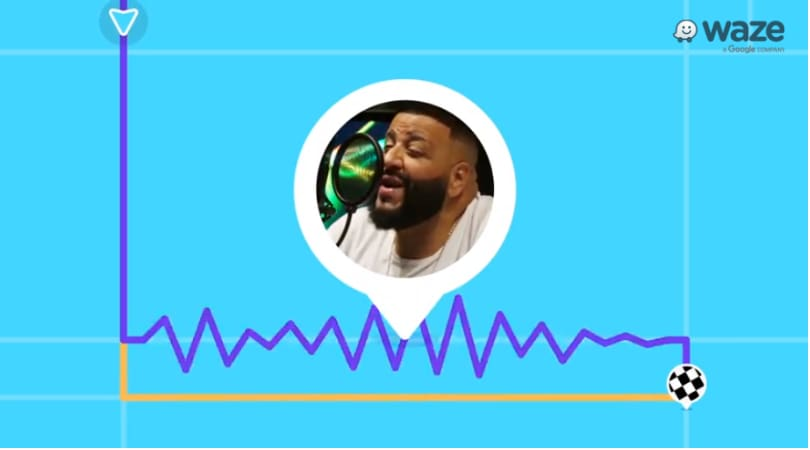DJ Khaled Now on Waze to Pump Up Your Daily Commute