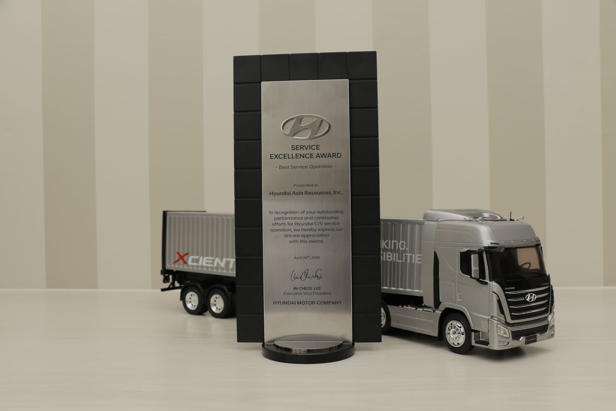 Hyundai PH Wins Service Excellence Award at Global CV Service Conference