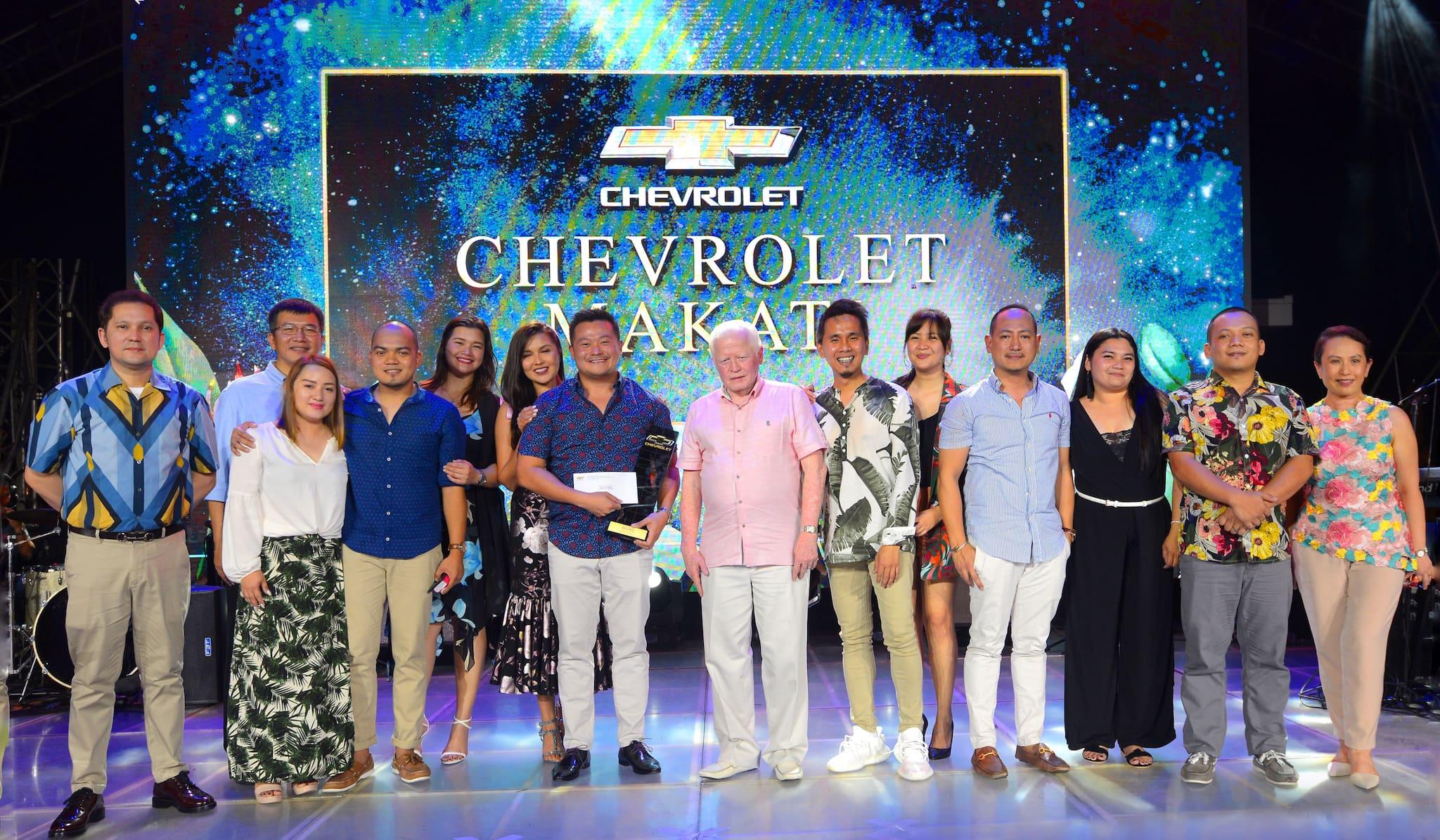 Chevrolet PH Names Dealer Grandmasters of the Year