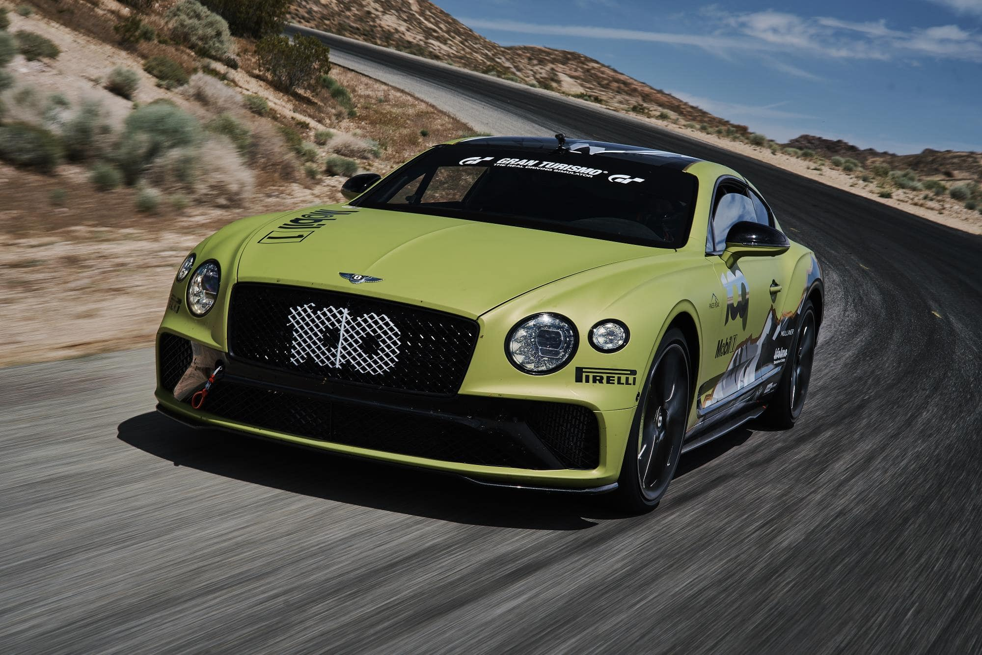 Bentley Continental GT Seeks Production Car Record at Pikes Peak Hill Climb