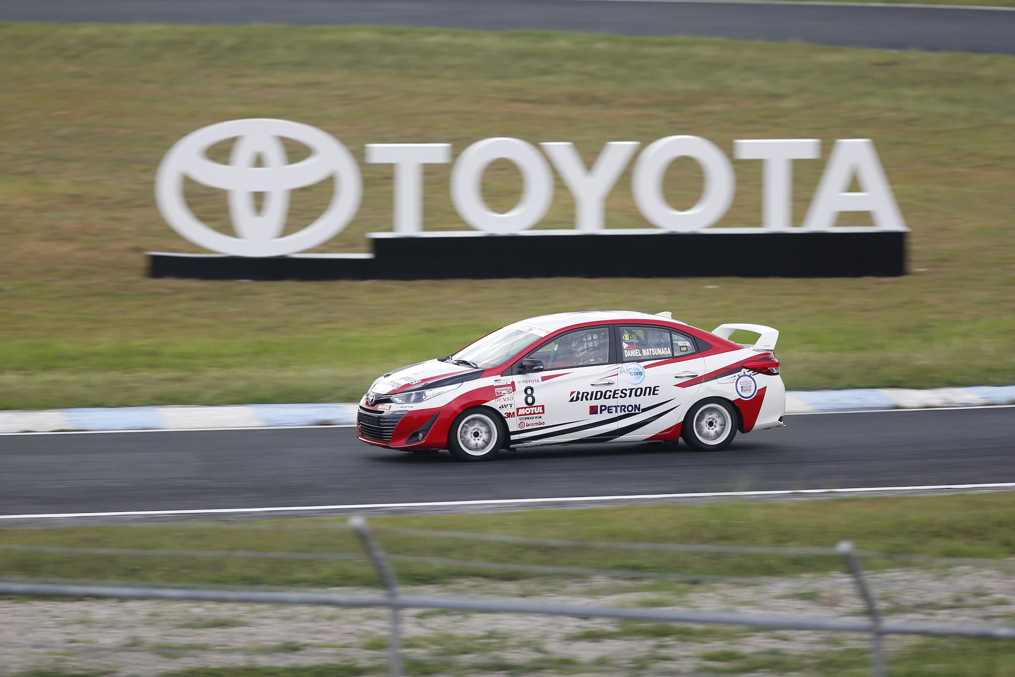 Toyota Returns to Clark for Vios Racing Festival