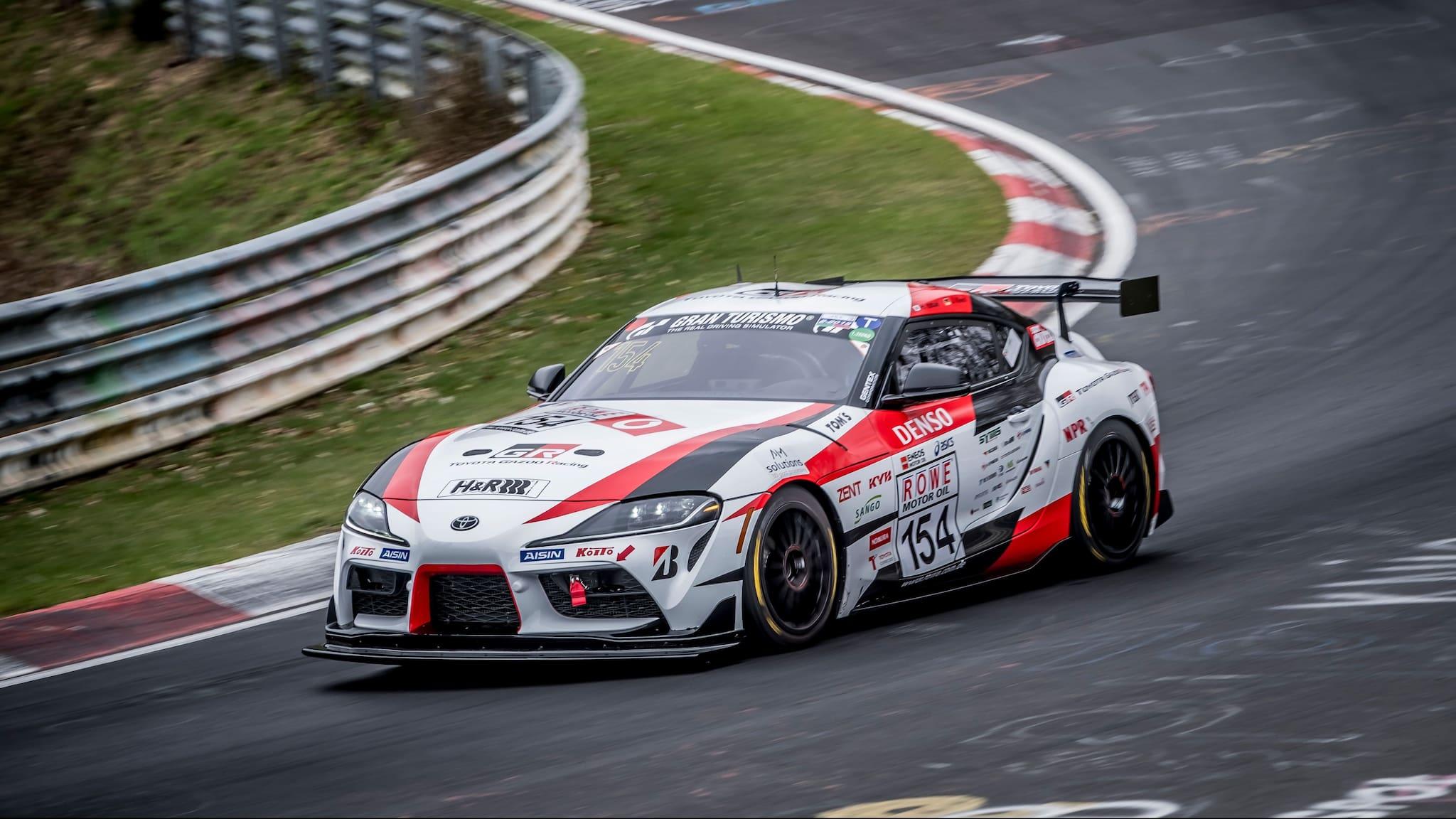 Toyota to Run GR Supra in Nürburgring 24 Hours Endurance Race