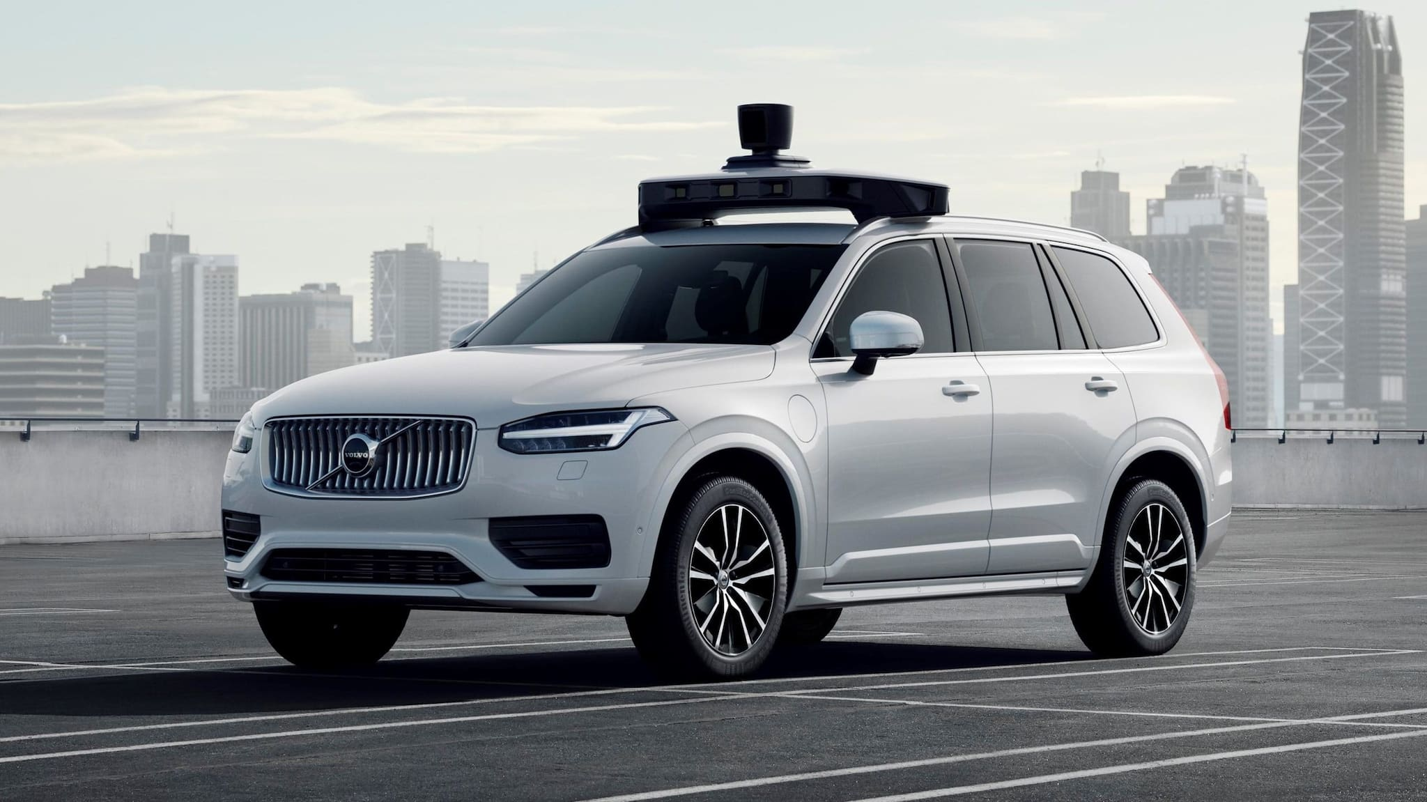 Volvo Cars, Uber Present Production Vehicle Ready for Self-Driving