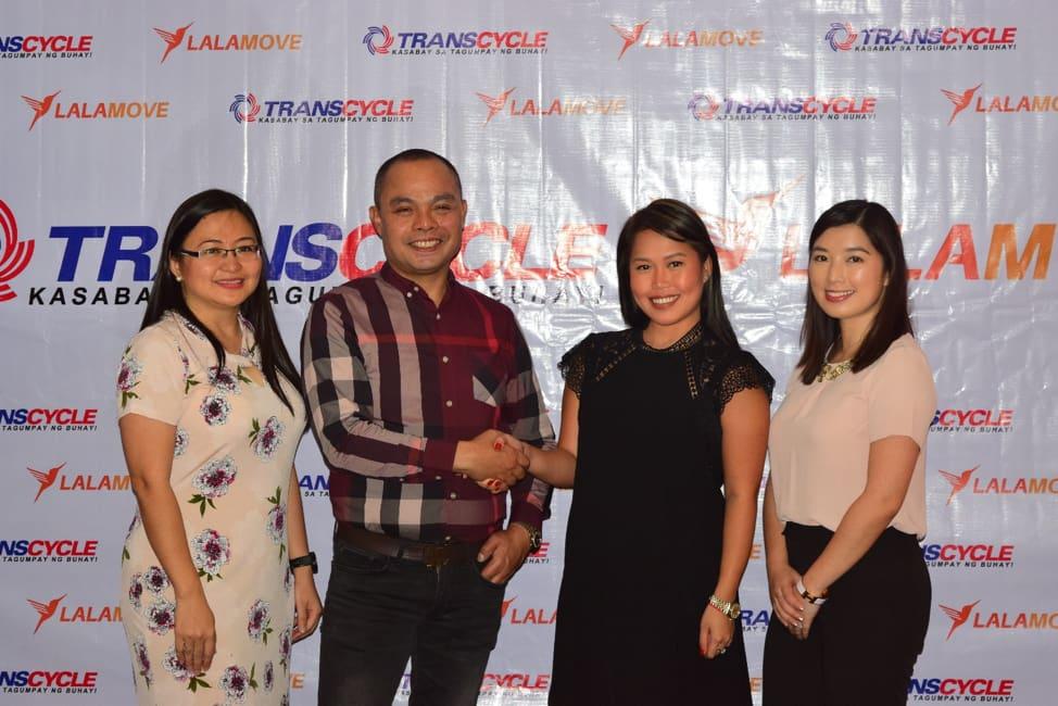 Lalamove Inks Partnership with Transcycle, Powercycle