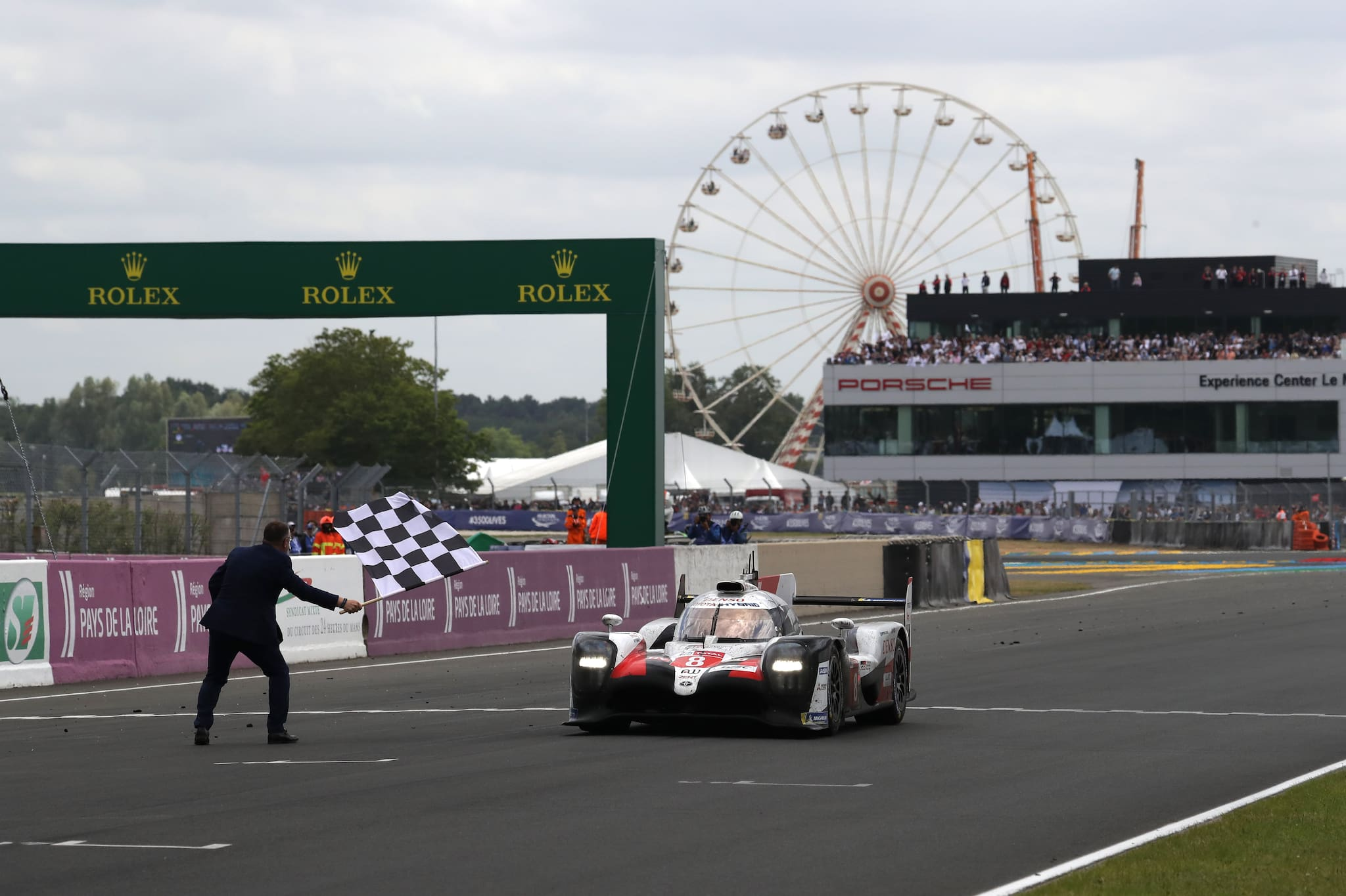 Toyota Gazoo Racing Takes 1-2 Finish at 87th Le Mans 24 Hours