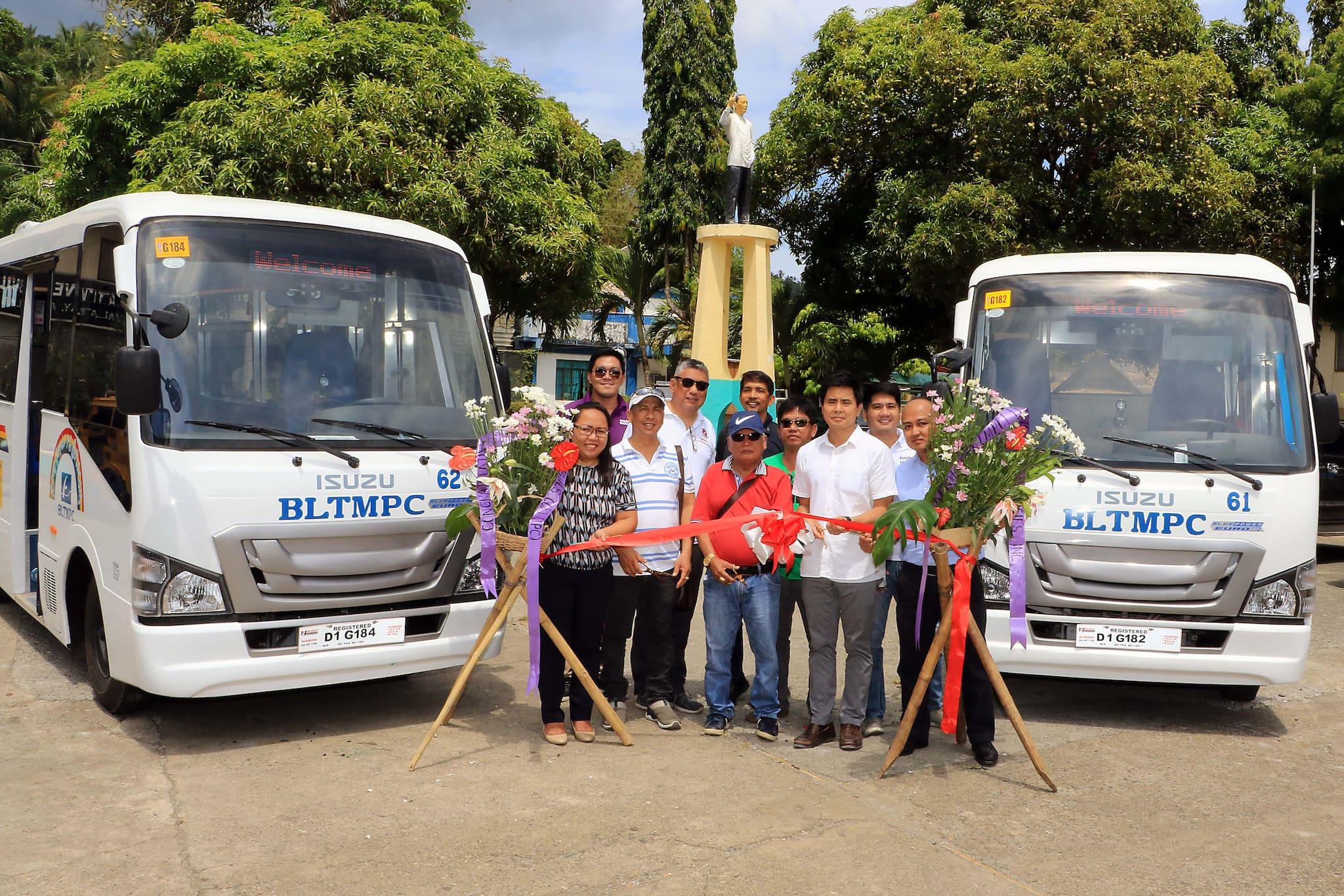 Isuzu Turns Over Modern PUVs to Boracay Transport Cooperative