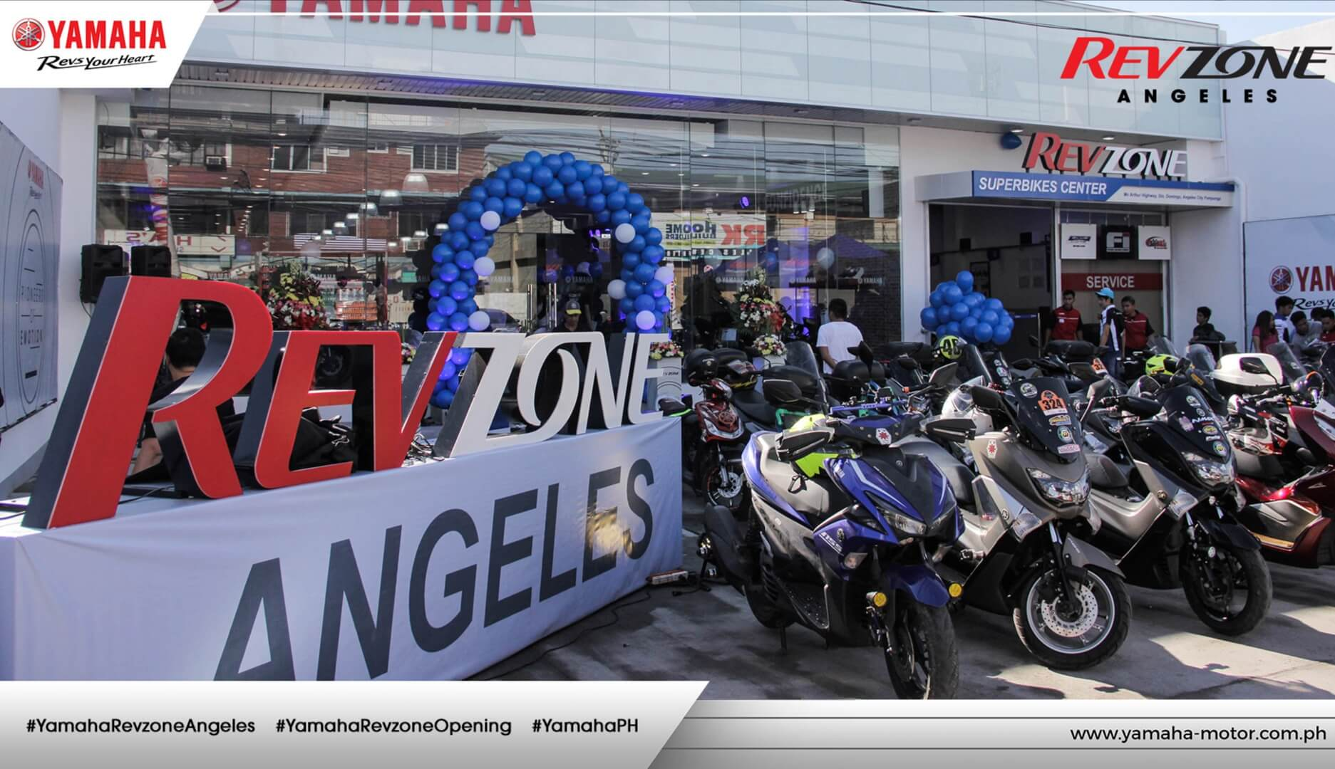 Yamaha Opens newest RevZone in Central Luzon