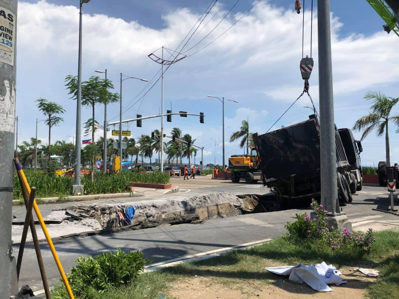 Repair of Roxas Boulevard 'Road Hole' to Start Soon
