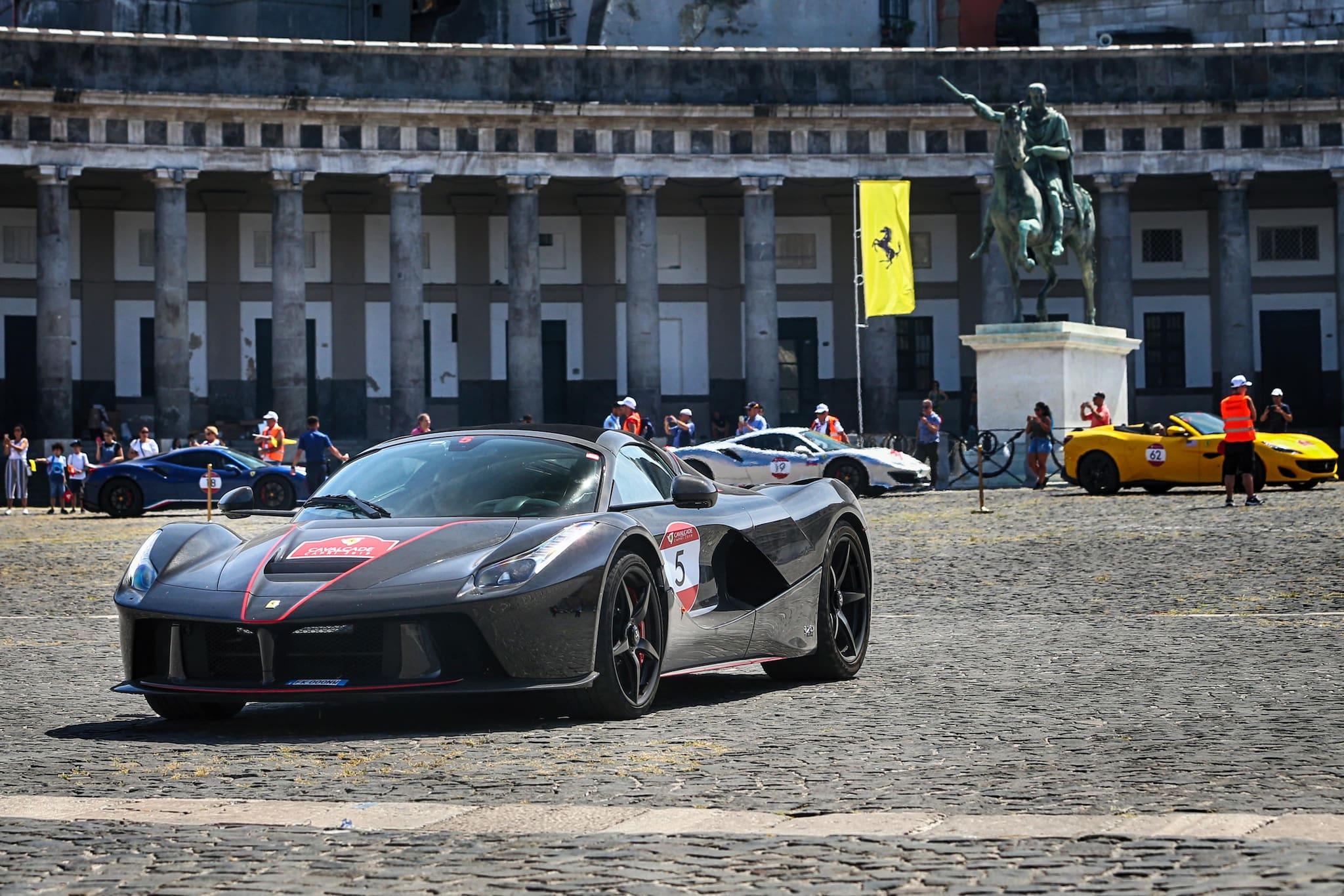 Ferrari Cavalcade Brings the World of Ferrari to Campania