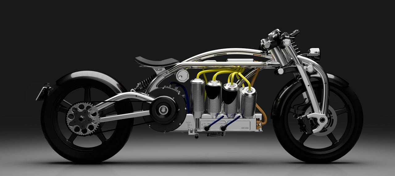 Curtiss Zeus Turns Motorcycle World Upside Down with Electric V8 Bike