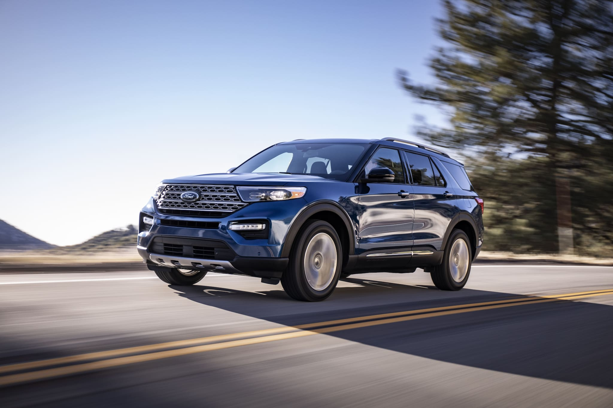 2020 Ford Explorer Will Carry Tires That Seal Their Own Punctures