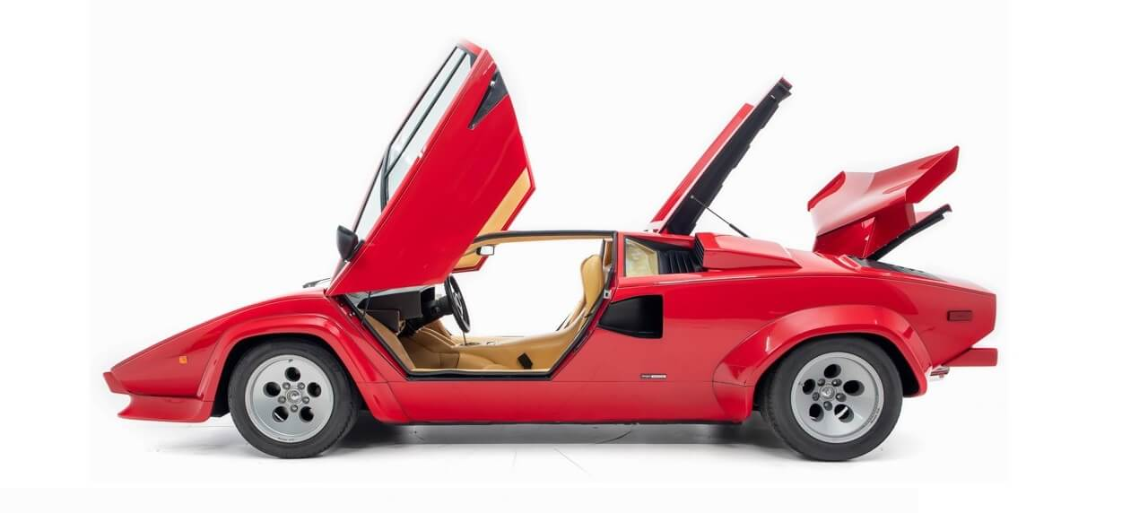 Mario Andretti's '84 Lamborghini Countach Goes Up for Sale