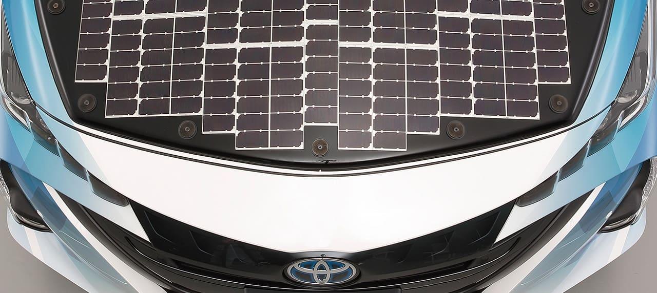 Toyota to Begin Testing Solar Prius