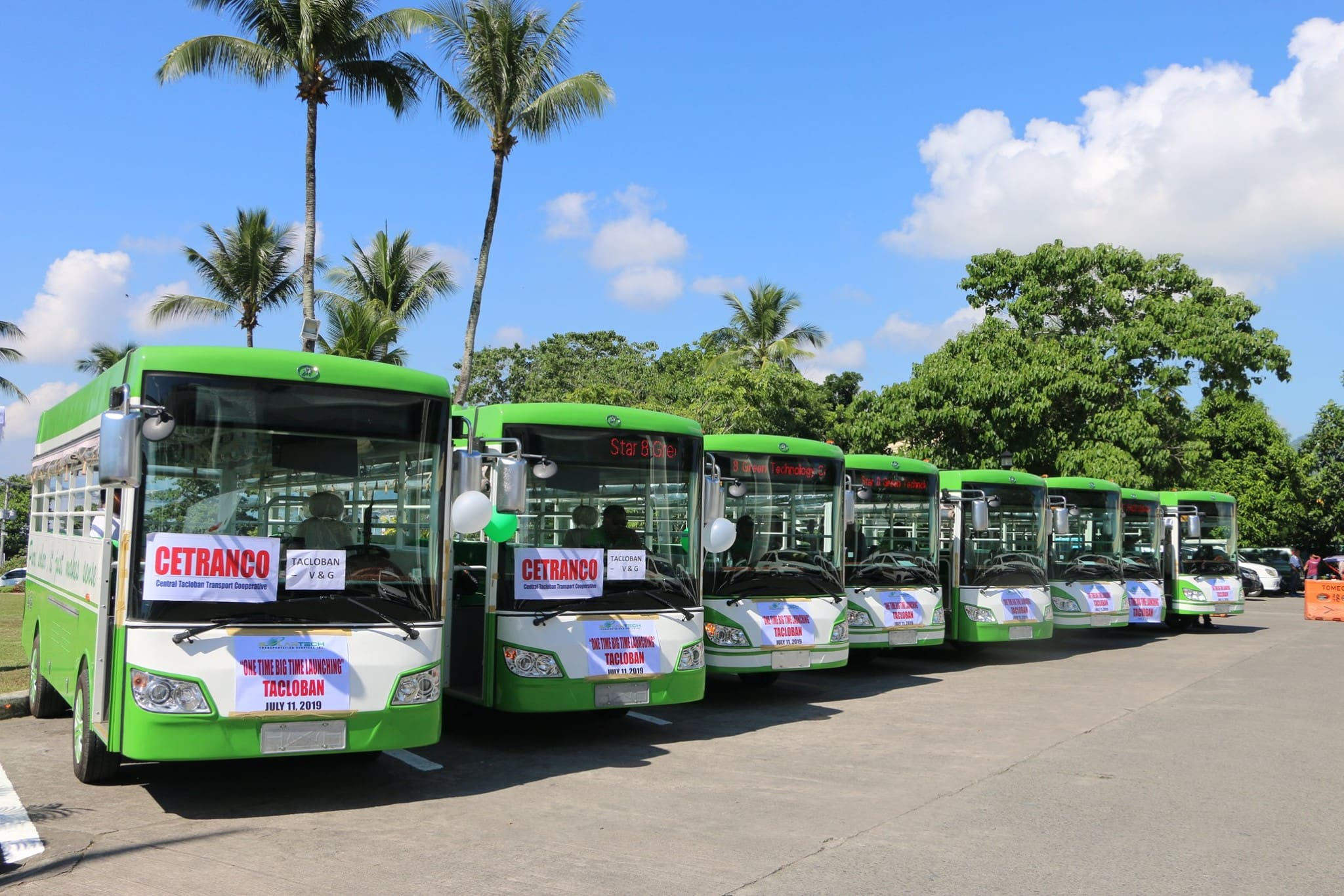 Tacloban Deploys 20 More Solar Jeepneys
